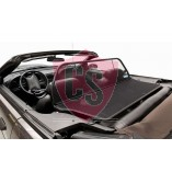 Ford Mustang 4 SN-95 Aluminium Wind Deflector - Black 1994-2004