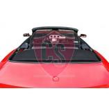 Ford Mustang 6 Aluminium Wind Deflector - Black 2014-present