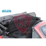 Porsche 944 & 968 Wind Deflector Single Frame with Mesh - Black 1989-1995