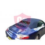 Porsche 996 mohair hood with PVC rear window 1998-2001