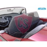 Renault Megane Wind Deflector Single Frame with Mesh - Black 1995-2003