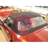 TVR S1, S2, S3 fabrics hood with PVC rear window 1986-1993