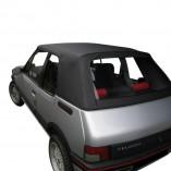 Peugeot 205 hood PVC & rear window section 1984-1992