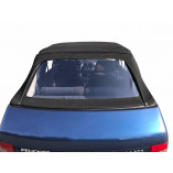 Peugeot 205 fabric hood with PVC rear window 1984-1992