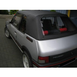 Peugeot 205 hood PVC & rear window section 1984-1992