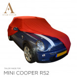 MINI Convertible R52 R57 F57 Indoor Cover  - Red