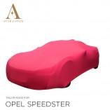 Vauxhall Speedster Indoor Cover  - Red
