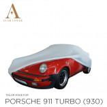 Porsche 911 930 Turbo 1975-1989  Indoor Car Cover - White