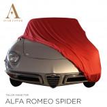 Alfa Romeo Spider 105 115 Indoor Cover - Tailored - Red