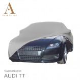 Audi TT 8J Roadster Indoor Car Cover - Tailored - Silvergrey