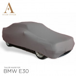 BMW 3 Series Convertible E30 Indoor Car Cover - Tailored - Silvergrey