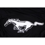 Ford Mustang I 1964-1967 Indoor Cover - Black with Pony emblem