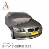 BMW 3 Series Convertible E93 Indoor Car Cover - Tailored - Silvergrey