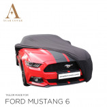 Ford Mustang 6 2014-2019 Indoor Cover - Black
