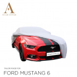 Ford Mustang 6 2014-2019 Indoor Cover - Silver grey