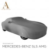 Mercedes-Benz SLS AMG Roadster Indoor Cover - Mirror Pockets