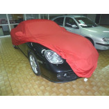 Porsche Boxster 981 Cover - Tailored - Mirror pockets - Satin Red