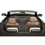 BMW 1 Series E88 Aluminium Wind Deflector - Black 2008-2013