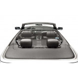 BMW 3 Series E46 Aluminium Wind Deflector - Black 2000-2006
