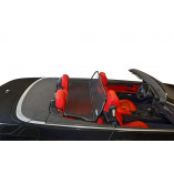 BMW 3 Series E93 Aluminium Wind Deflector - Black 2006-2013