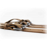Luggage Belts Made of Leather - Brown