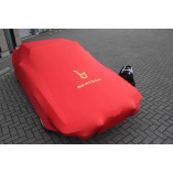 Fiat X 1/9 Indoor Cover - Red with Bertone emblem
