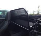 Porsche 993 Wind Deflector Single Frame - Black 1993-1998