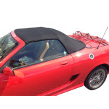MGF / TF mohair hood - PVC rear window 1998-2005 (2 section hood)