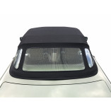 Mercedes-Benz R107 SL 1971-1989 fabric top with window section Mohair