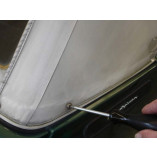 Peugeot 205 Convertible PVC Rear Window Section in Mohair