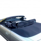 Ford Thunderbird Aluminium Wind Deflector - Black 2000-2005