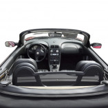MGF & MG TF anti roll bars + wind deflector 1996-2006 BLACK EDITION