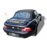 BMW Z3 Roadster Luggage Rack - LIMITED WOOD EDITION | 1995-1999 | Black