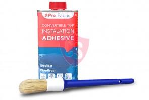Pro-Fabric hood contact glue & brush