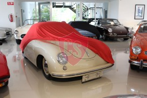 Porsche 356 Indoor Cover  - Red