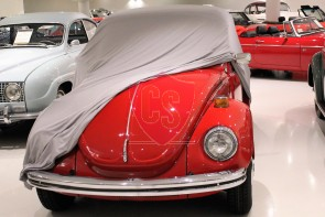 Volkswagen Beetle Indoor Car Cover - Silvergrey