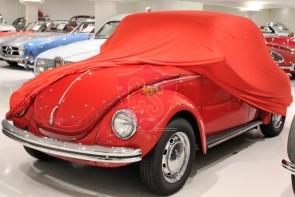 Volkswagen Beetle Indoor Car Cover - Red