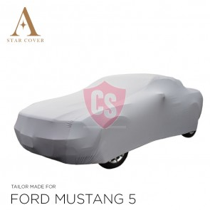 Ford Mustang 5 2005-2014 Indoor Cover - Silver grey