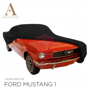 Ford Mustang Convertible Indoor Cover - Black