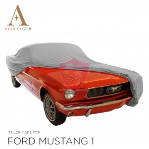 Ford Mustang Convertible Indoor Cover - Grey