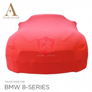 BMW 8 Series Cabrio G14 Indoor Cover - Red