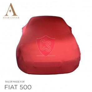 Fiat 500 500C - Indoor Car Cover - Red