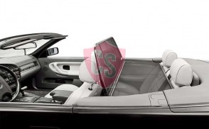 BMW 3 Series E36 Aluminium Wind Deflector - Black 1993-2000