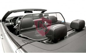 BMW 3 Series E46 Aluminium Wind Deflector - Black 1999-2006