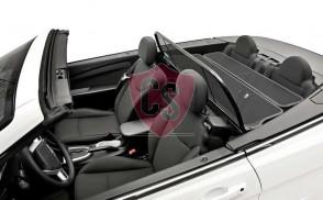 Chrysler Sebring Aluminium Wind Deflector - Black - 2011-2014