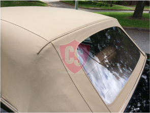 Rolls Royce Corniche fabrics hood with PVC rear window 1967-1992