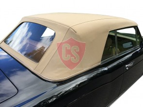 Rolls Royce Corniche PVC hood with PVC rear window 1967-1992