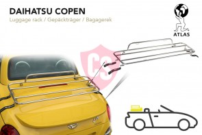 Daihatsu Copen Luggage Rack 2003-2013