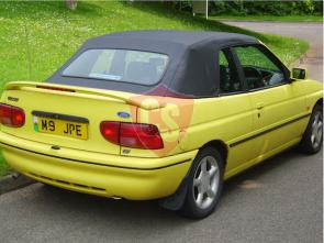 Ford Escort PVC cabriolet hood 1992-1998