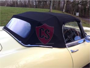 Jaguar E-Type S1 mohair cabriolet hood 1961-1968